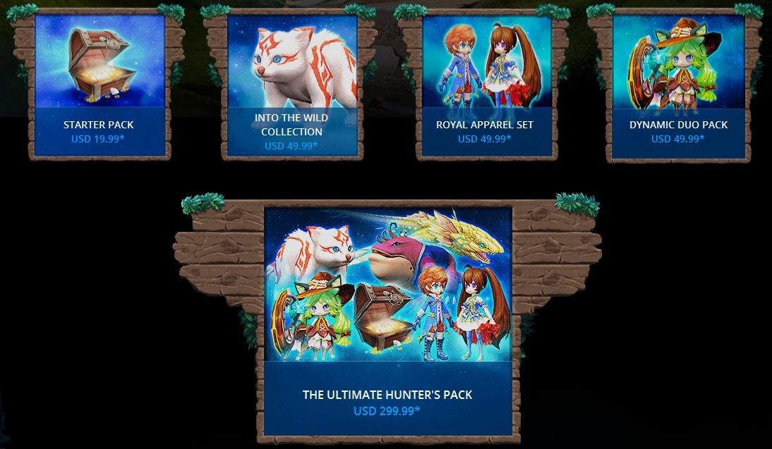 Dragomon Hunters Founder Packs