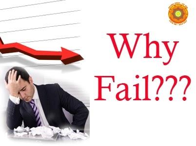 Những nguyên nhân chính dẫn đến sự thất bại