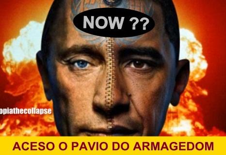OBAMA AMEAÇA RÚSSIA COM GUERRA NUCLEAR ANTES DAS ELEIÇÕES