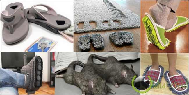 10 Sandal yang paling Aneh di Dunia