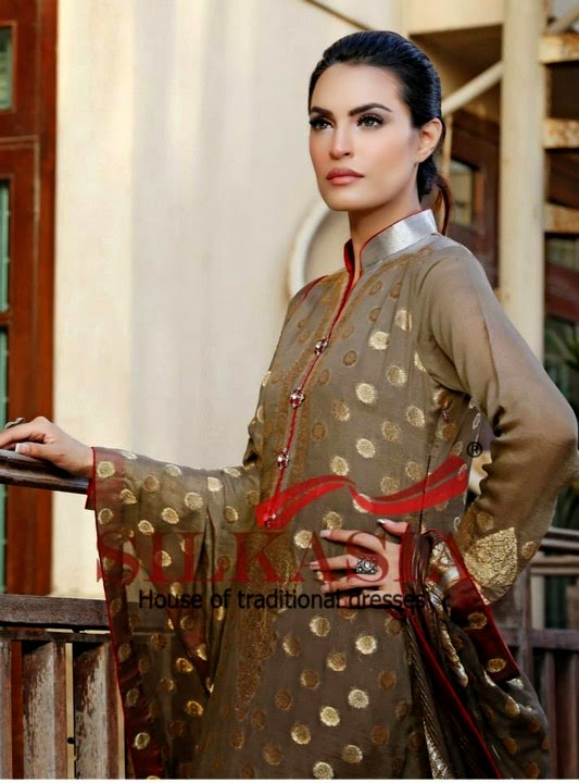 Silkasia Eid Collection 2014 for Girls