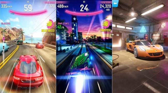 Asphalt Overdrive, Game Balap Mobil Gratis Terbaik