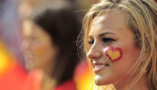 Chicas eurocopa 2012