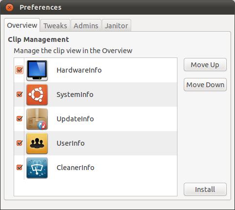 Tweak for Ubuntu Oneiric