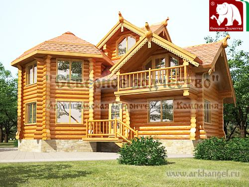 Log Cabin Home House Plans
