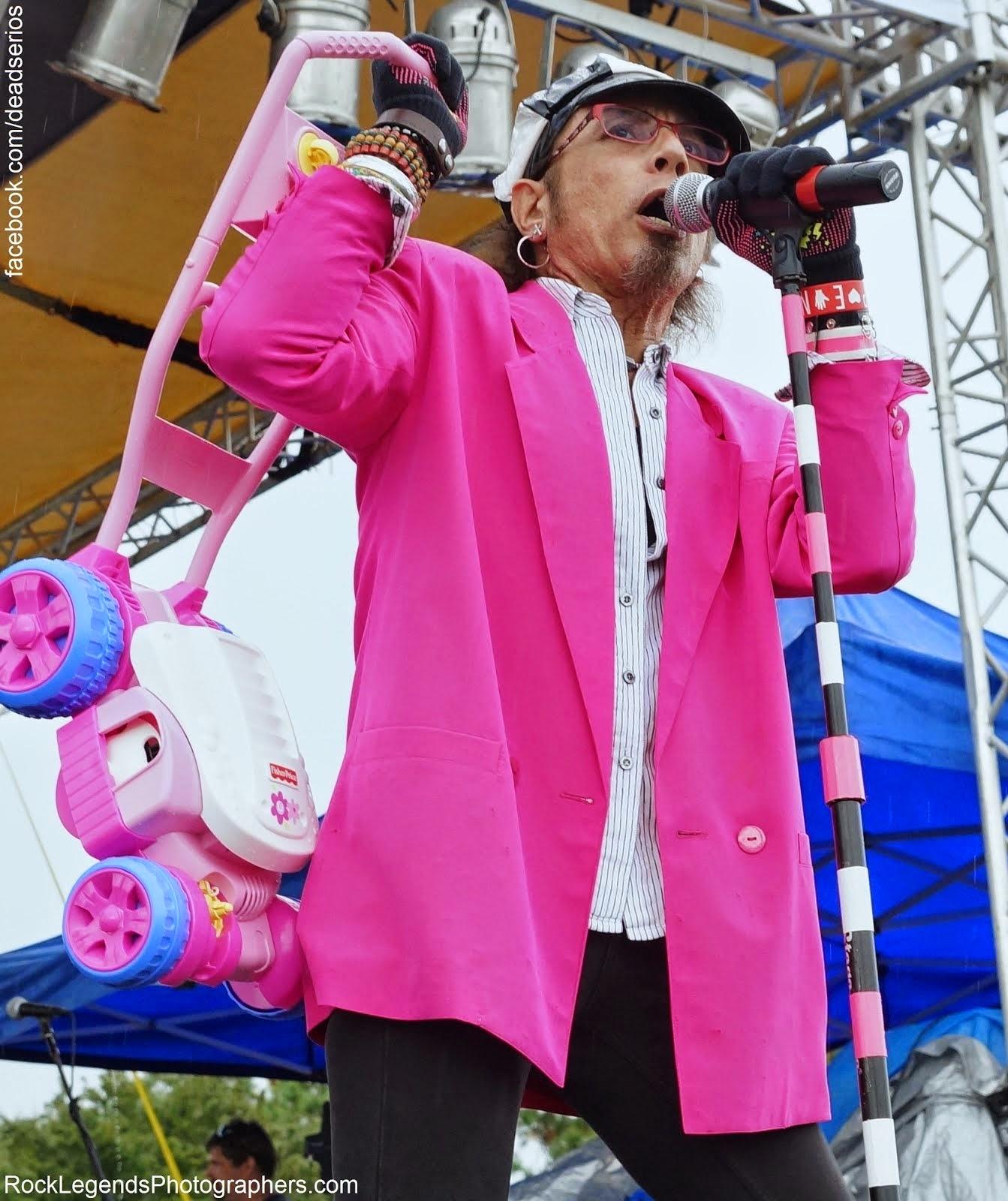 Onstage w/ DEAD SERIOS - 2014
