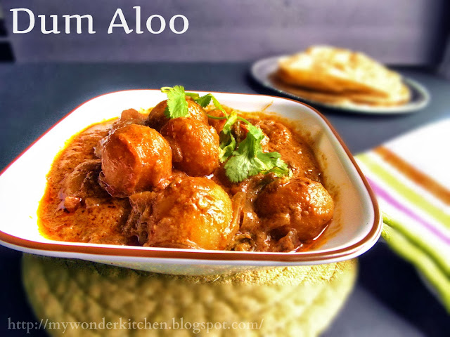 Dum Aloo| An exotic Potato gravy | Tribute to Tarla Dalal & Nelson ...