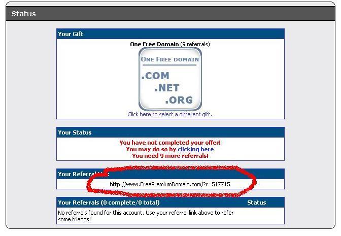 Dapatkan Domain Premium Gratisss
