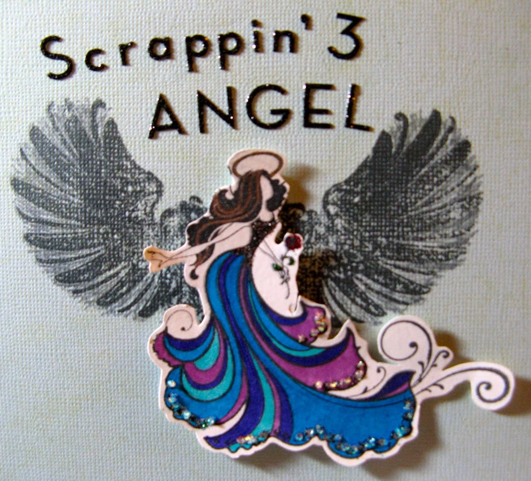 Scrappin&#39; 3 Angel