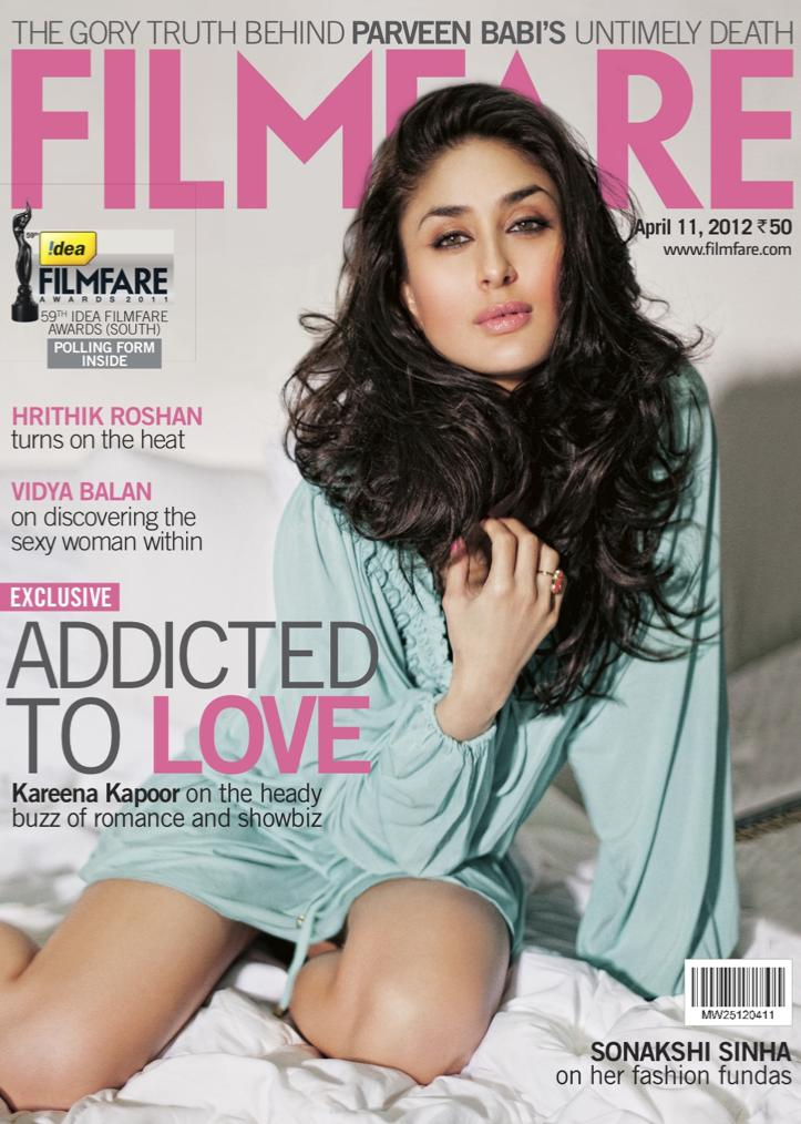 Kareena Kapoor Filmfare Scan -  Kareena Kapoor Filmfare Scans – April 2012