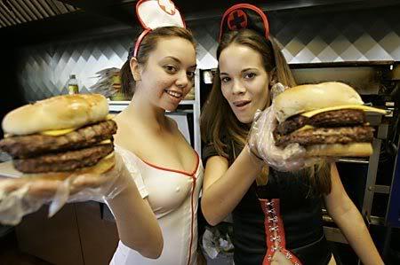 heart attack grill nurses. heart attack grill. heart