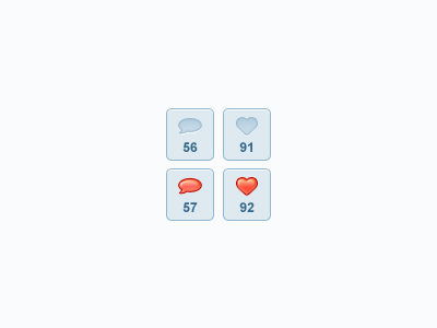 Free Buttons PSD Files