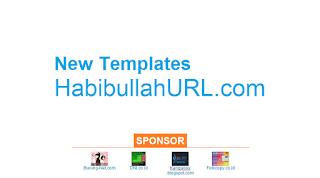Mengapa HabibullahURL.com mengganti Templatenya?