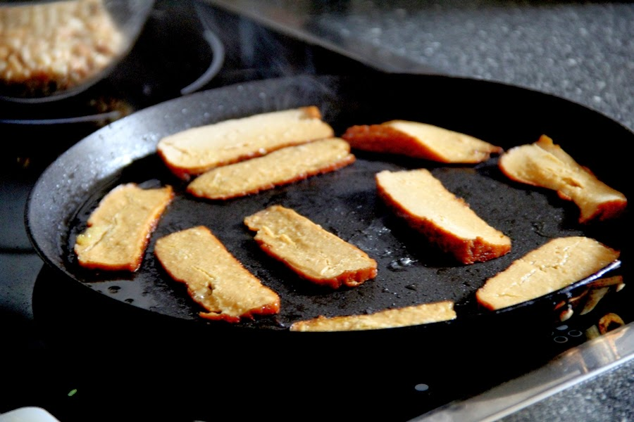 pan pfanne räuchertofu tofu küche