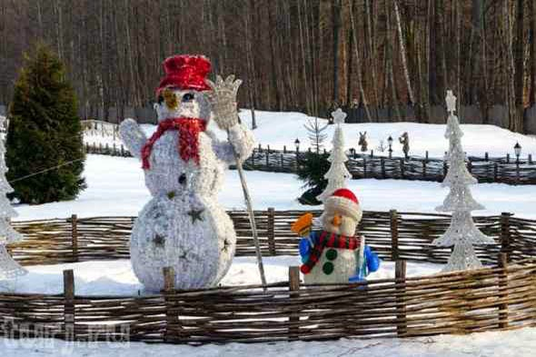 Snowman_Belarusian_Father_Frost_Residence