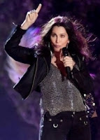 Cher at Liberty State Park