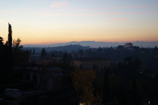 San Miniato Florence Italy Gregorian Chant Fort Belvedere in distance