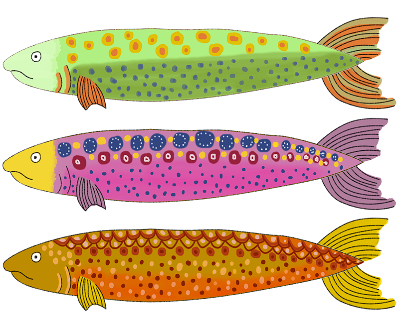 Dibujo pez