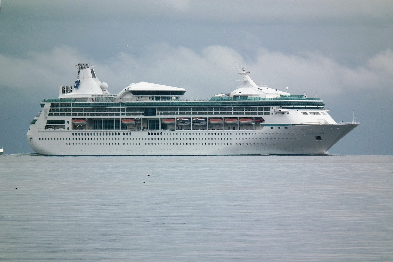 The things i enjoy the cruise liner vision of the seas on its way