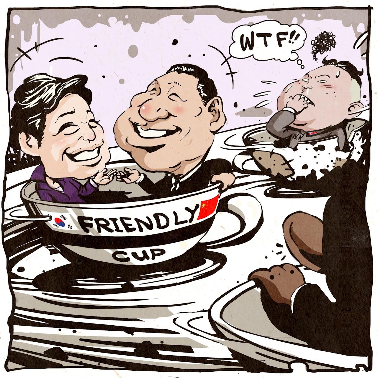 Funny Kim Jong Un Cartoon