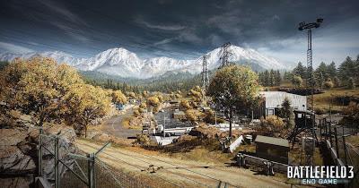 Mapa Battlefield 3 DLC End Game