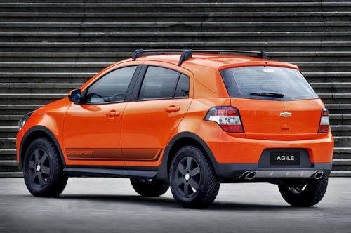 CARROS TEN (10)  Novo carro da Chevrolet Agile 2014 f5cbd13406dfc
