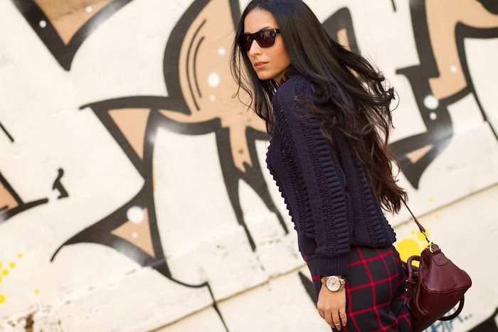 Mixing Prints: Plaid and Floral