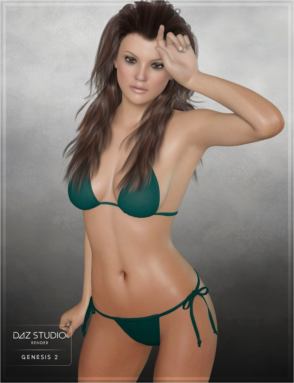 3d Models Art Zone - Miss Ivy