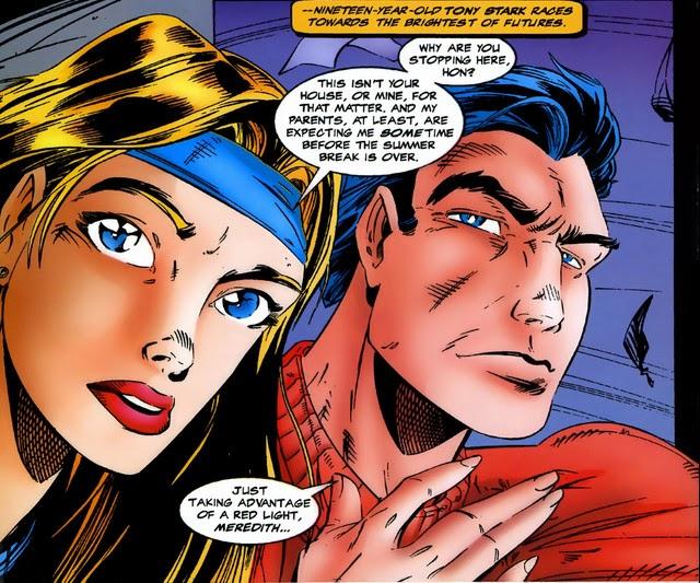 Avengers Timeslide Teen Tony