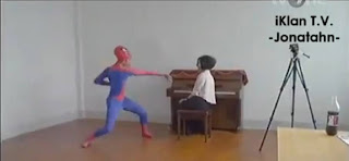 tarian the amazing spaiderman