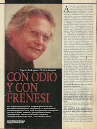 CON ODIO Y CON FRENESÌ.1999