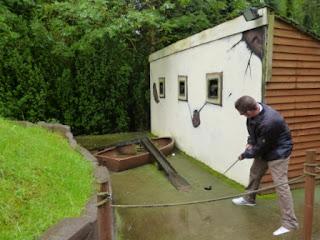 Crazy Golf at Wonderland in Telford Town Park