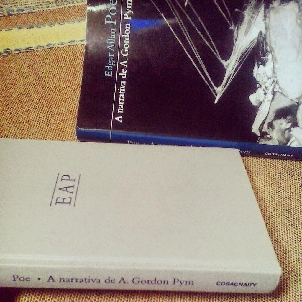 A narrativa de A. Gordon Pym Cosac Naify resenha
