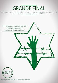 ONG Nova Baraúna realiza neste sábado (31) grande final do Concurso Holocausto