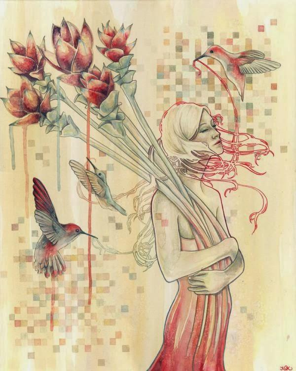 Cute Illustrations by Kelly McKernan