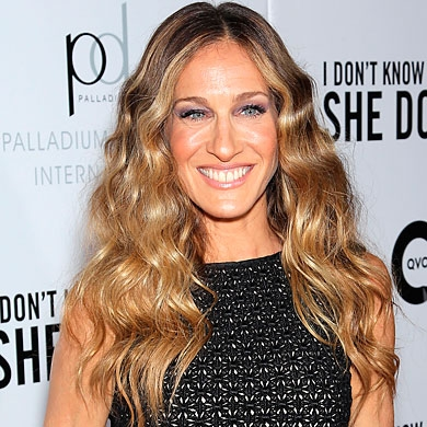 Sarah Jessica Parker Beach Kissed Curls