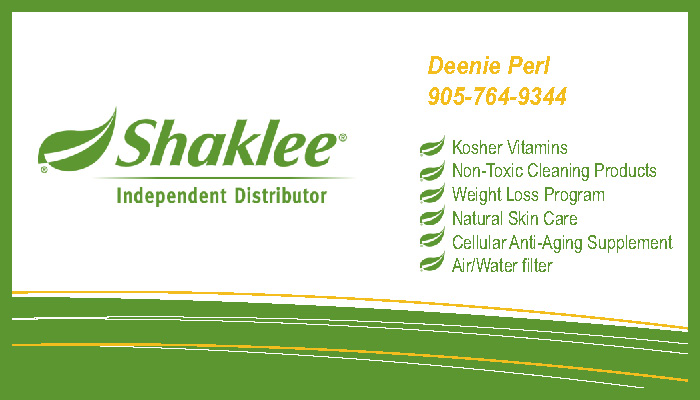 Design by mendy for Shaklee business cards