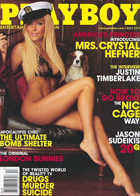 crstal harris playboy cover