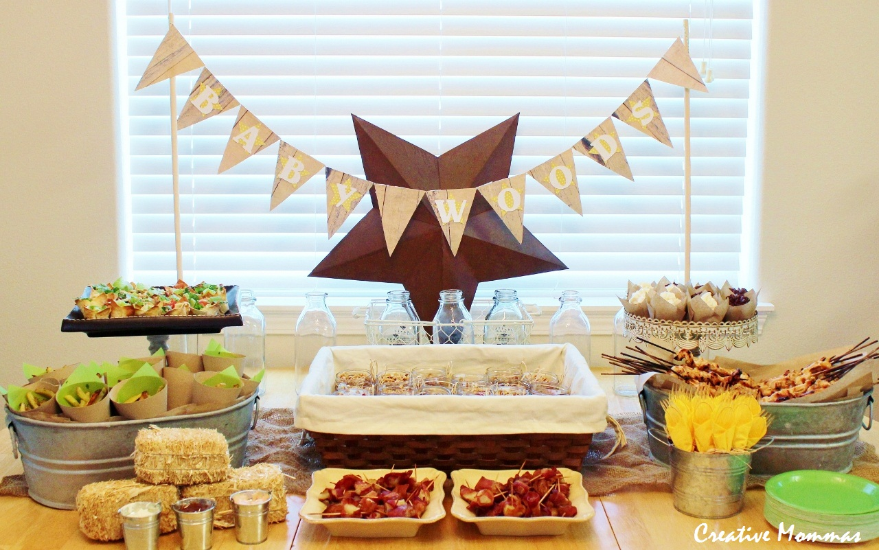 creative mommas country themed baby shower