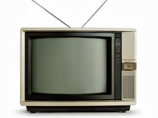 1980's television set