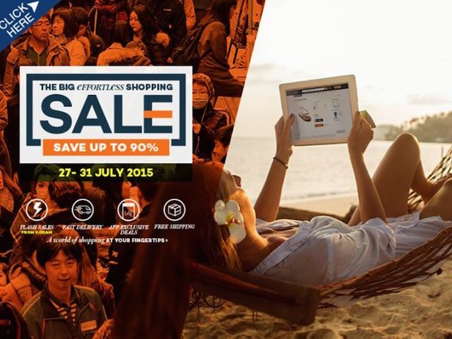 The Big Effortless Shopping Sale by Lazada Malaysia