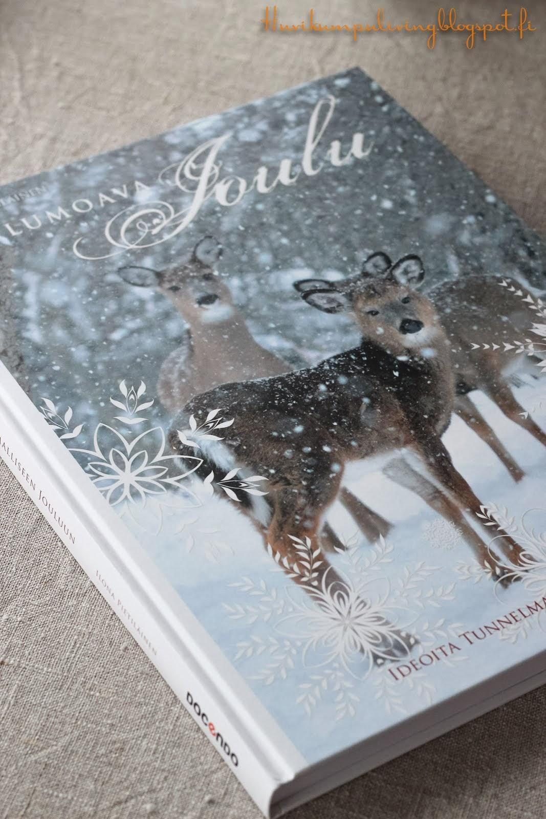 Lumoava Joulu-kirjan arvonta blogissani 10.11.13 saakka