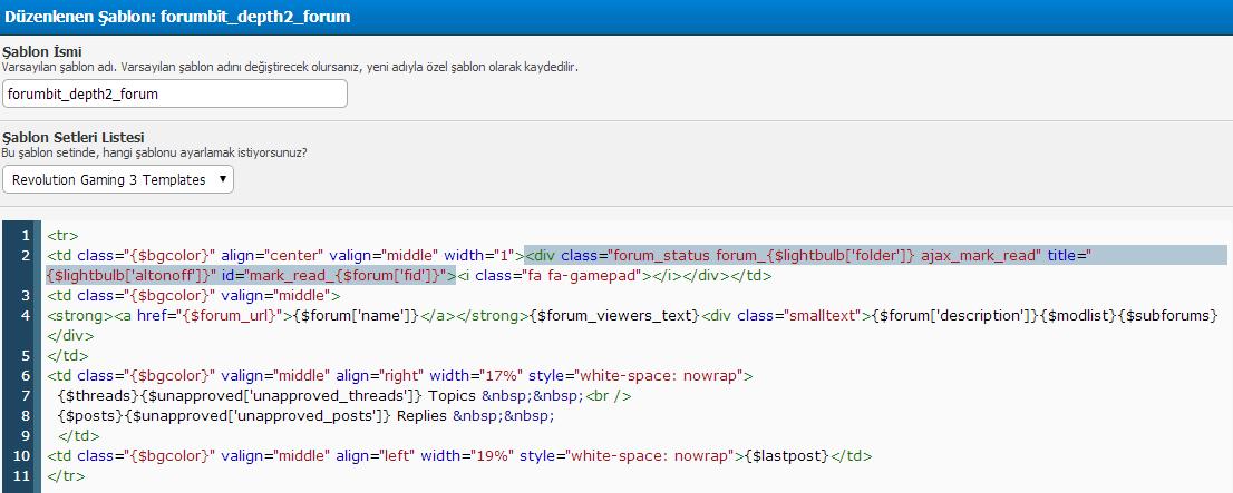MyBB Forum 1.8.x Farklı ikon Eklemek