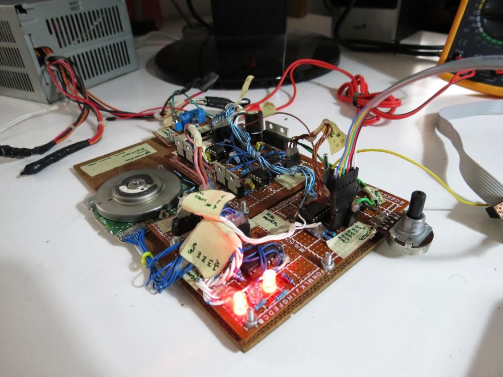 Davide gironi a simple brushless sensored motor driver for How to make a brushless dc motor