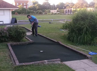 Photo of the Splash Point Mini Golf course in Worthing