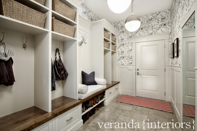 Our Home {Mud Room U0026 Pantry}