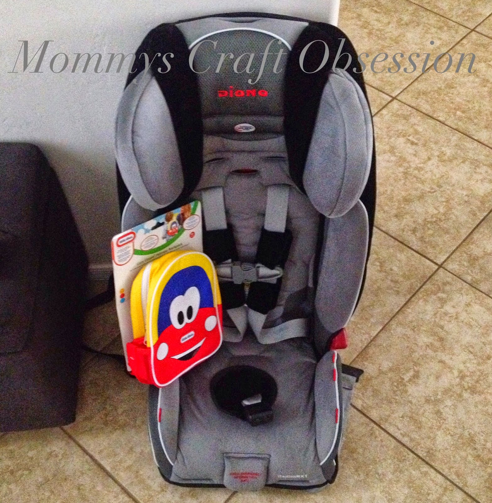 Cozy Coupe Harness Backpack