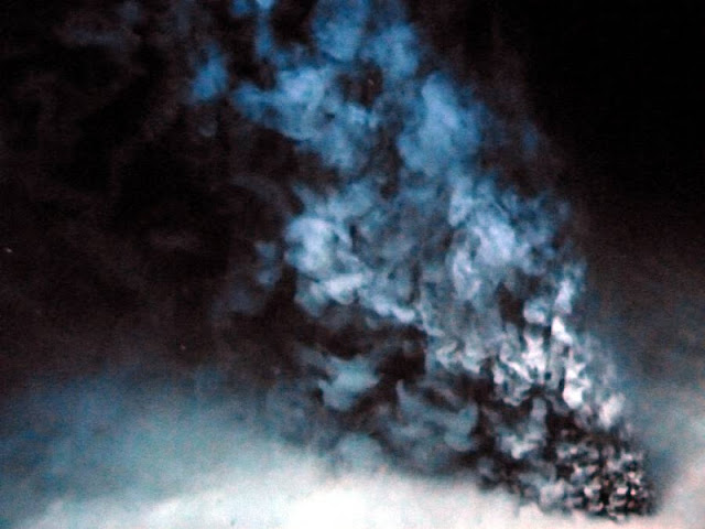 Schwarzer Raucher in der Tiefsee-Ausstellung im Lokschuppen Rosenheim