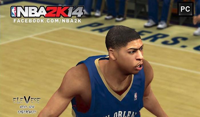 NBA2K14 PC Next-Gen Faces Mod