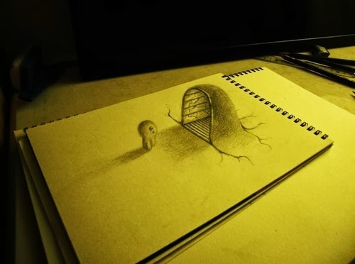 12-NAGAI-HIDEYUKI-Hide-永井-秀幸-3D-Pencil-Drawings-www-designstack-co